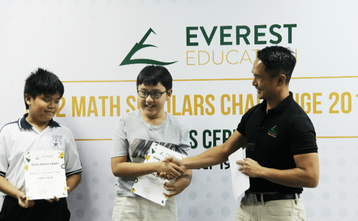 E2 Math Scholars Challenge 2016: Awards Ceremony