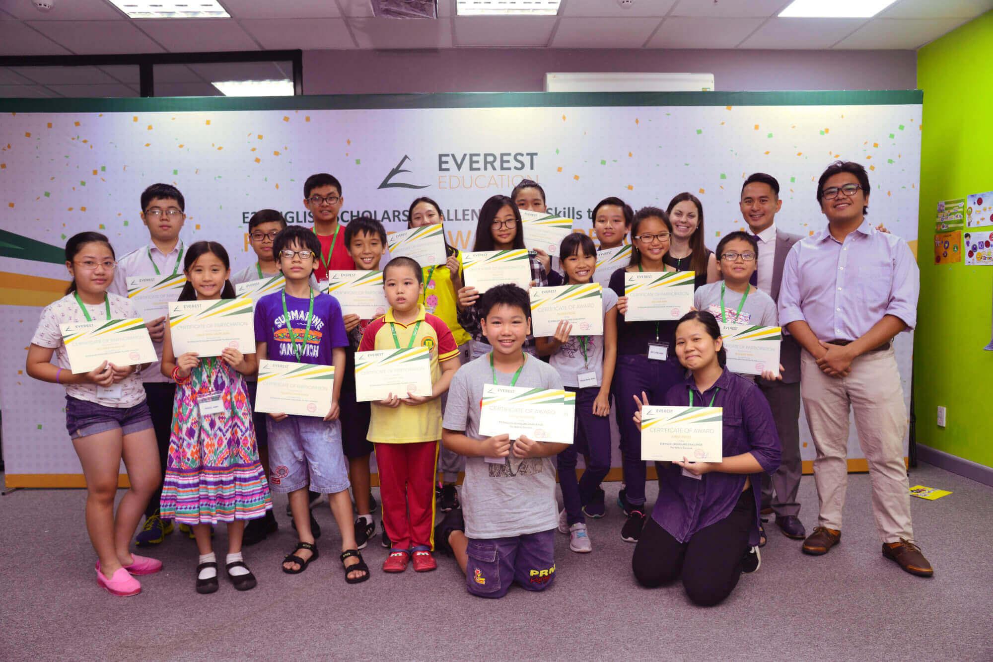 E2 English Scholars Challenge 2017