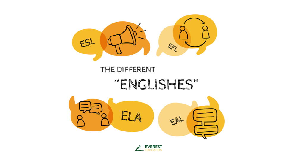"The different ""Englishes"""