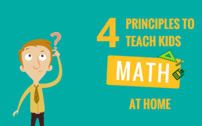 4 principles you should follow when teaching kids Math at home