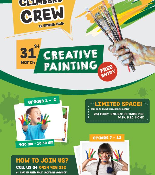 Climbers Crew #1: Creative Painting