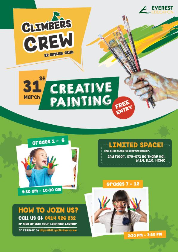 Creative painting english club