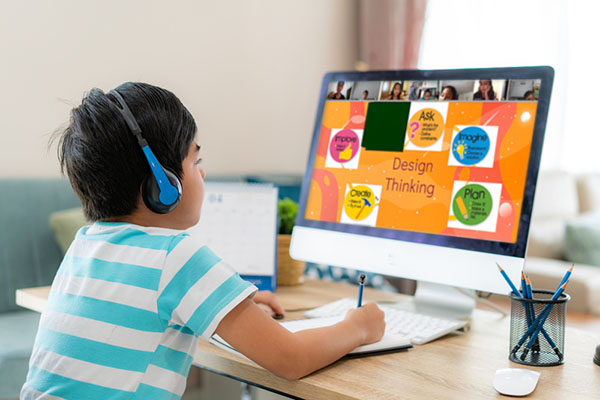 class-in-online-learning-platform
